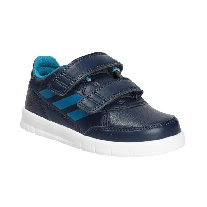 Children's Hook-and-Loop Sneakers adidas, blue , 101-9161 - 13