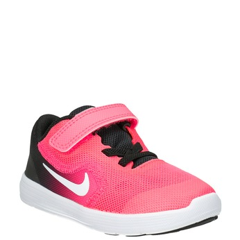 Girls' Pink Sneakers nike, pink , 109-5132 - 13