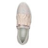 Ladies' leather slip-ons bata, pink , 516-5614 - 26