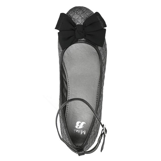 Girls' Sparkly Ballet Pumps mini-b, black , 329-6286 - 15
