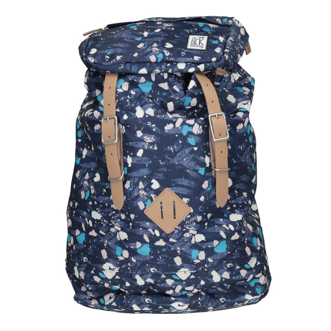 Backpack with Colourful Pattern, blue , 969-9076 - 26