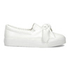 Ladies' slip-ons with bow north-star, white , 511-1606 - 19