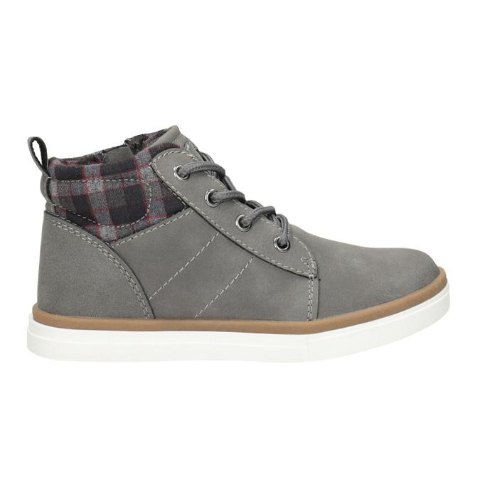 Children's High Top Shoes mini-b, gray , 291-2172 - 26