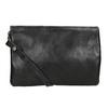Ladies' Leather Crossbody Handbag a-s-98, black , 964-6044 - 16
