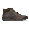 Men's leather ankle boots bata, brown , 846-4645 - 19