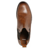 Brown leather Chelsea Boots bata, brown , 896-3673 - 26
