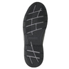 Men's leather sneakers bata, black , 824-6921 - 19