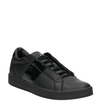 Ladies' Black Sneakers, black , 501-6171 - 13