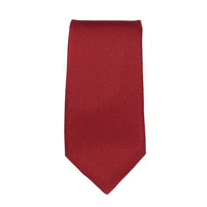 Red Tie and Handkerchief Set bata, red , 999-5290 - 26