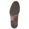 Ladies' leather high boots vagabond, brown , 523-4011 - 19