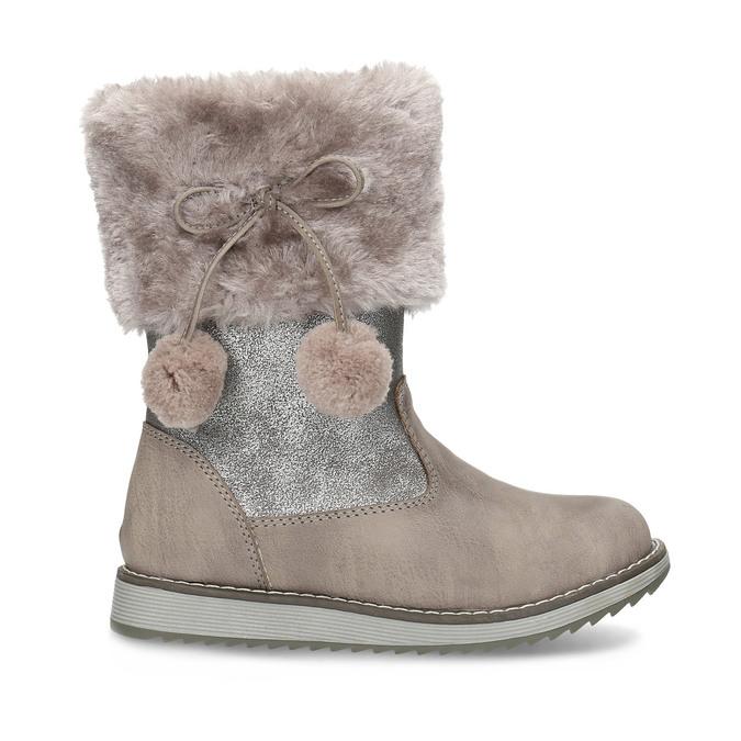 Children's Winter Boots bubblegummer, beige , 291-8624 - 19