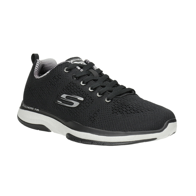 Black Men's Sneakers skechers, black , 809-6330 - 13