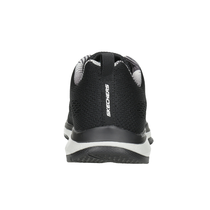 Black Men's Sneakers skechers, black , 809-6330 - 16