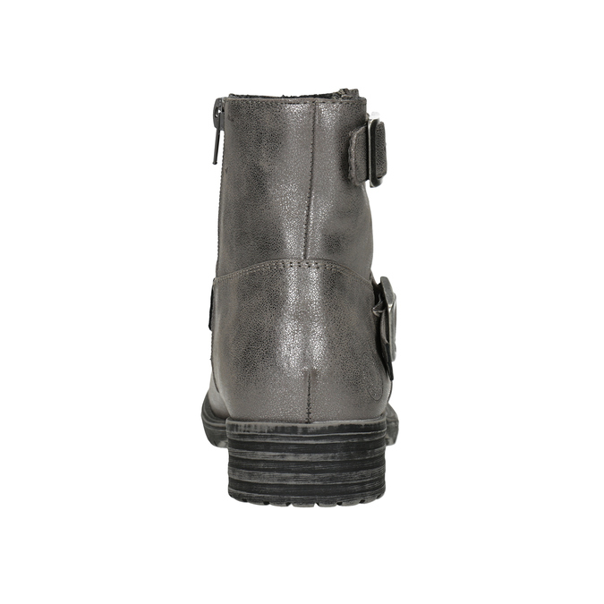 Girls' High Boots with Buckles bullboxer, 491-8021 - 16
