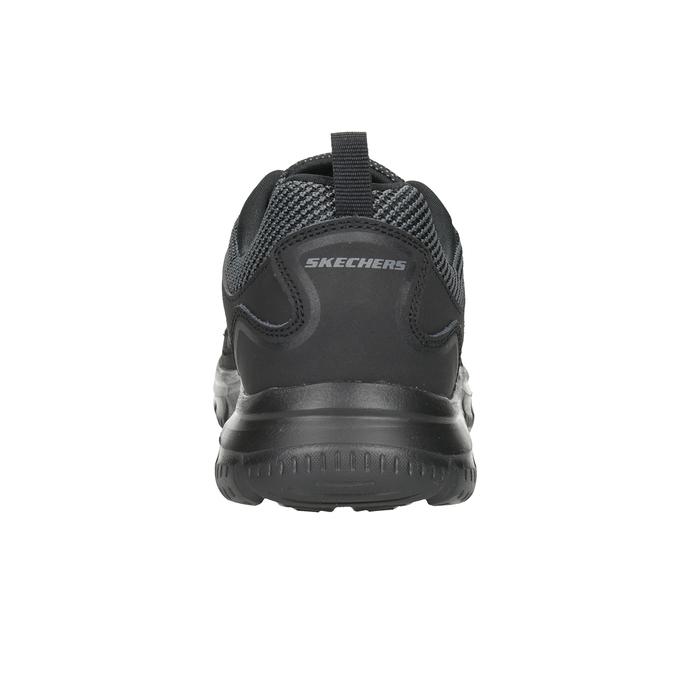 Men's Black Sneakers skechers, black , 809-6331 - 16
