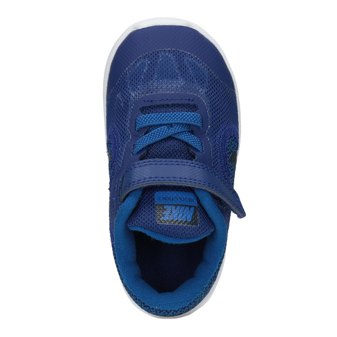 Blue Children's Sneakers nike, blue , 109-9132 - 15