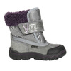 Girls' Winter Boots with Fleece bubblegummer, gray , 193-2601 - 15