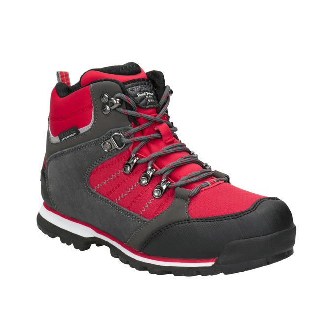 Children's Outdoor-style winter boots, red , 399-5016 - 13