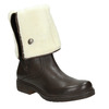 Ladies' Insulated Leather High Boots manas, brown , 593-3609 - 13