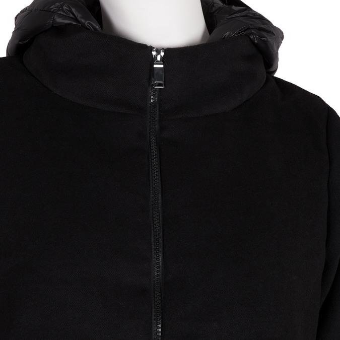 Ladies' hooded jacket bata, black , 979-6163 - 16