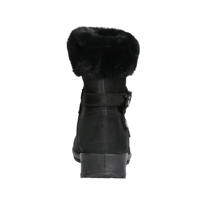 Ladies' Winter Boots with Fleece, black , 696-6623 - 17