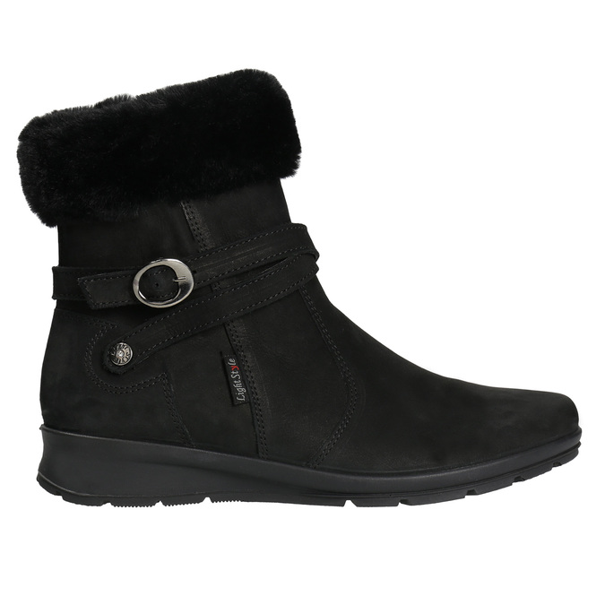 Ladies' Winter Boots with Fleece, black , 696-6623 - 15