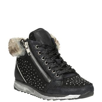 Childrens shoes mini-b, black , 329-6287 - 13