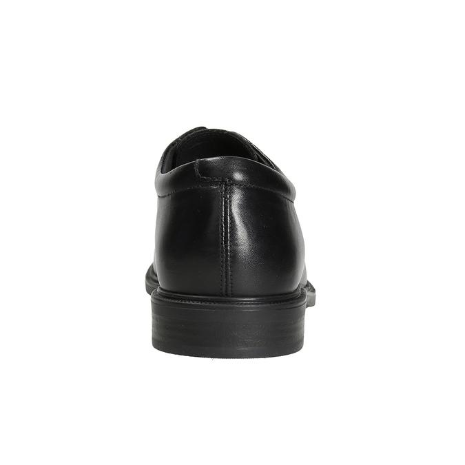 Men's Leather Shoes climatec, black , 824-6986 - 16