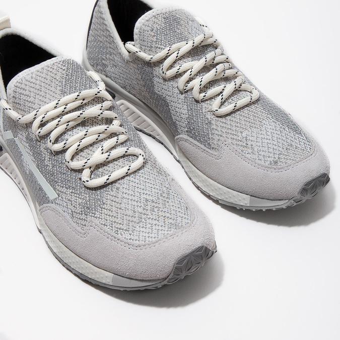 Ladies' sporty sneakers diesel, white , 509-1760 - 14