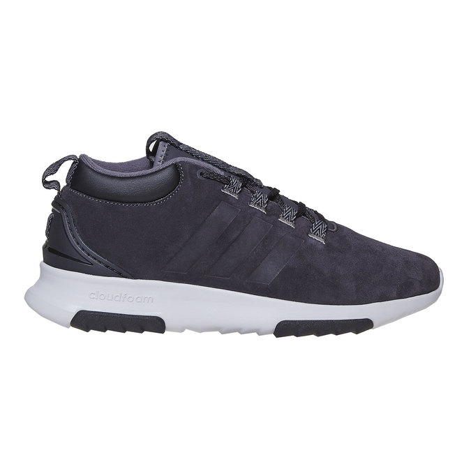 Men's Leather Sneakers adidas, black , 803-6202 - 15