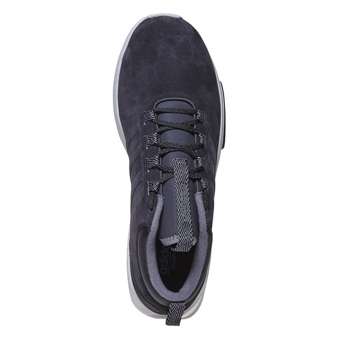 Men's Leather Sneakers adidas, black , 803-6202 - 19