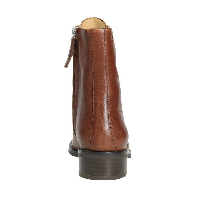 Ladies' leather high boots vagabond, brown , 626-3034 - 16