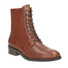 Ladies' leather high boots vagabond, brown , 626-3034 - 13