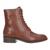 Ladies' leather high boots vagabond, brown , 626-3034 - 26