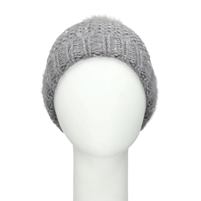 Furry Pompom Hat bata, multicolor, 909-0152 - 26