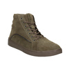 Brushed leather ankle sneakers diesel, brown , 803-4629 - 13