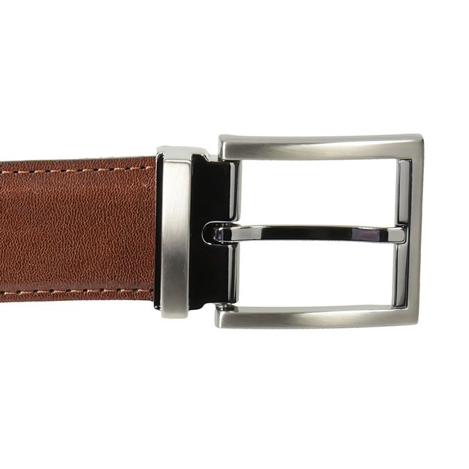 Gift pack with leather belt and wallet bata, brown , 954-4200 - 17