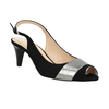 Ladies' court shoes bata, black , 623-6604 - 13