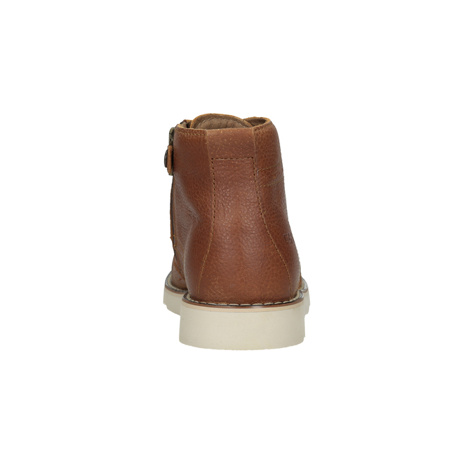 Children's leather ankle boots primigi, brown , 314-3004 - 15