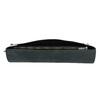 Black leather clutch bata, black , 966-6285 - 17