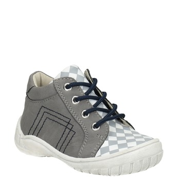 Kids' ankle shoes bubblegummer, gray , 111-2626 - 13