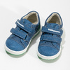 Blue children's casual sneakers bubblegummer, blue , 111-9625 - 16