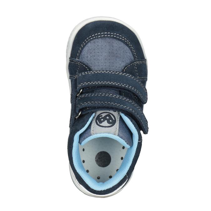 Kids' leather ankle boots bubblegummer, blue , 113-9603 - 15