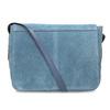 Blue leather crossbody handbag bata, blue , 963-9127 - 16