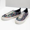 Ladies' sneakers with floral pattern north-star, black , 589-6446 - 16
