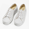 Ladies' casual leather shoes weinbrenner, beige , 546-1602 - 16