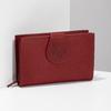 Ladies' leather purse bata, red , 944-5155 - 17